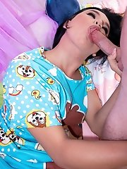 Ladyboy Bon - Talented Tongue Chipmunk Bareback